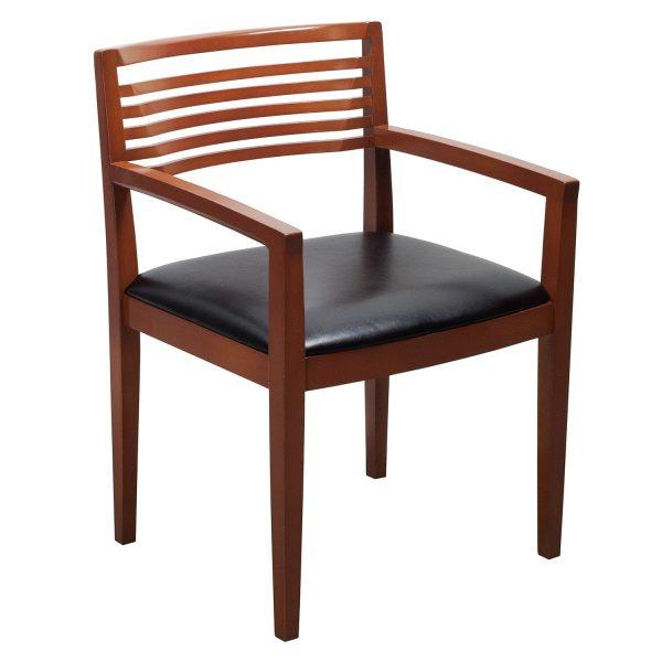 Knoll Ricchio Used Side Chair, Black