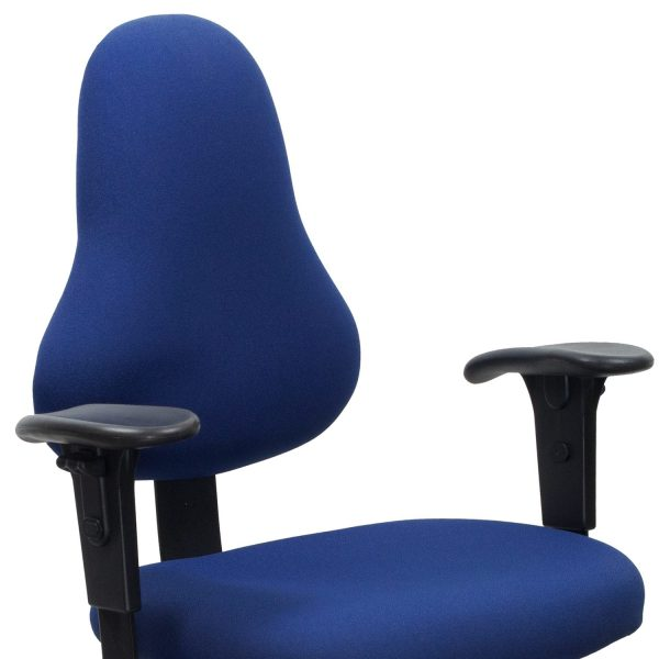 Office Master Discovery Used Task Chair, Blue