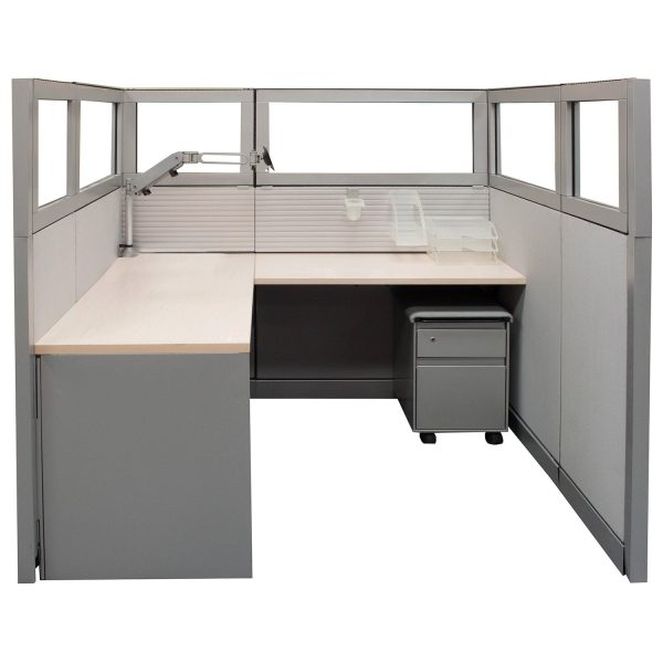 5.5 x 5.5 Kick Used Work Stations by Steelcase - $799 Each
