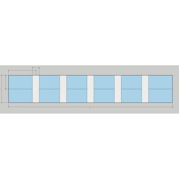 Steelcase Turnstone Bivi Used Open Benching w Storage - Pod of 12