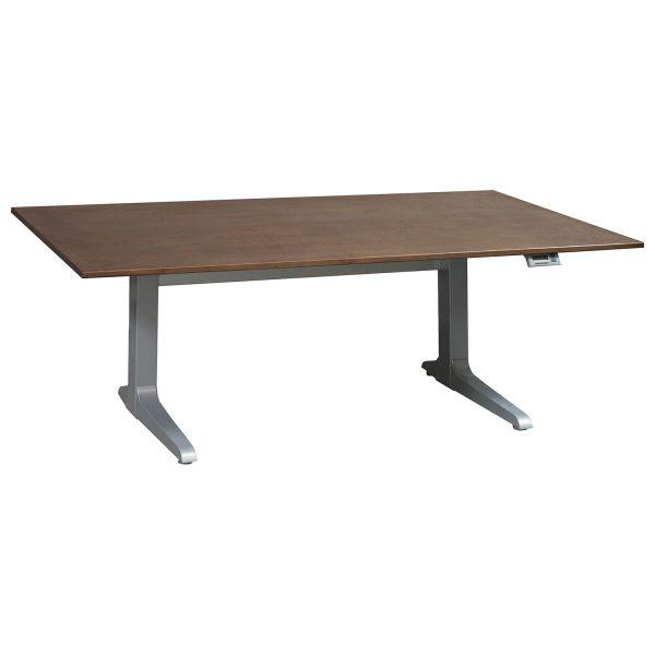 Workrite Sierra Used Electric Sit Stand Table, Veneer Top