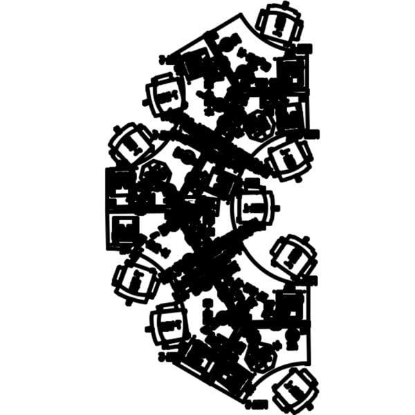 Haworth Compose Used Collaborative Pod of 9