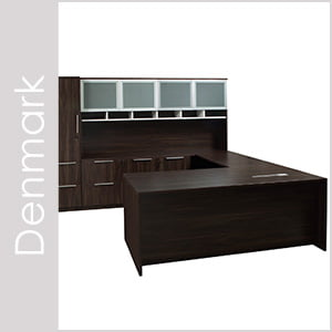 Denmark Laminate Desk Set Series