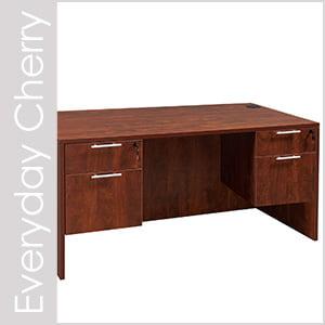 Everyday Cherry Laminate Desk Set Series