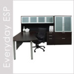 Everyday Espresso Laminate Desk Set Series