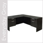 Everyday Gray Laminate Desk Set Series