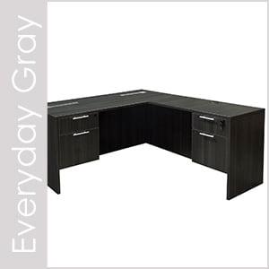 Everyday Gray Laminate Desk Set Series