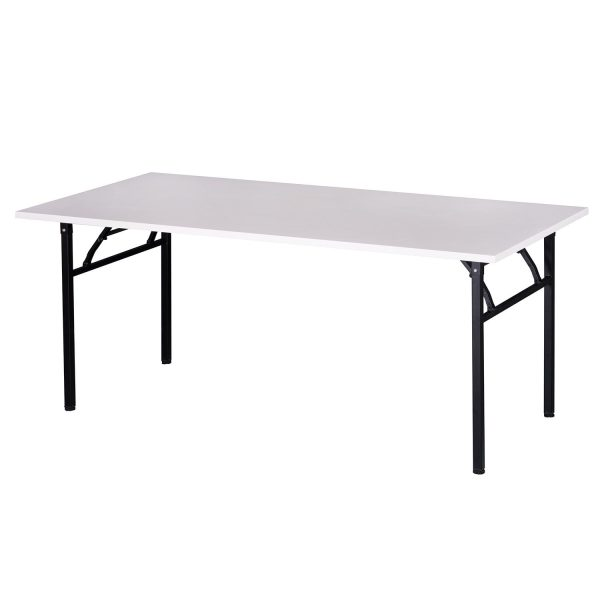 goSIT New 36x72 Heavy Duty Folding Table, White
