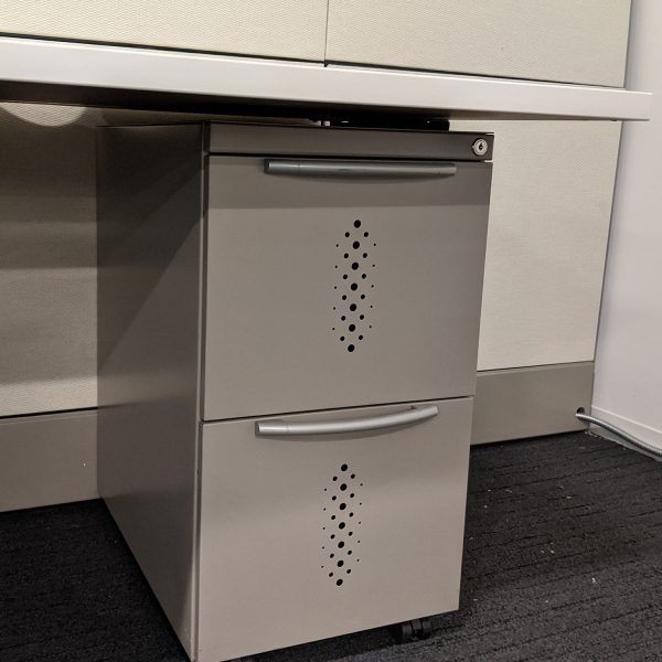 7.5x9.5 Premise Used Work Stations By Haworth, Sold as a Standalone