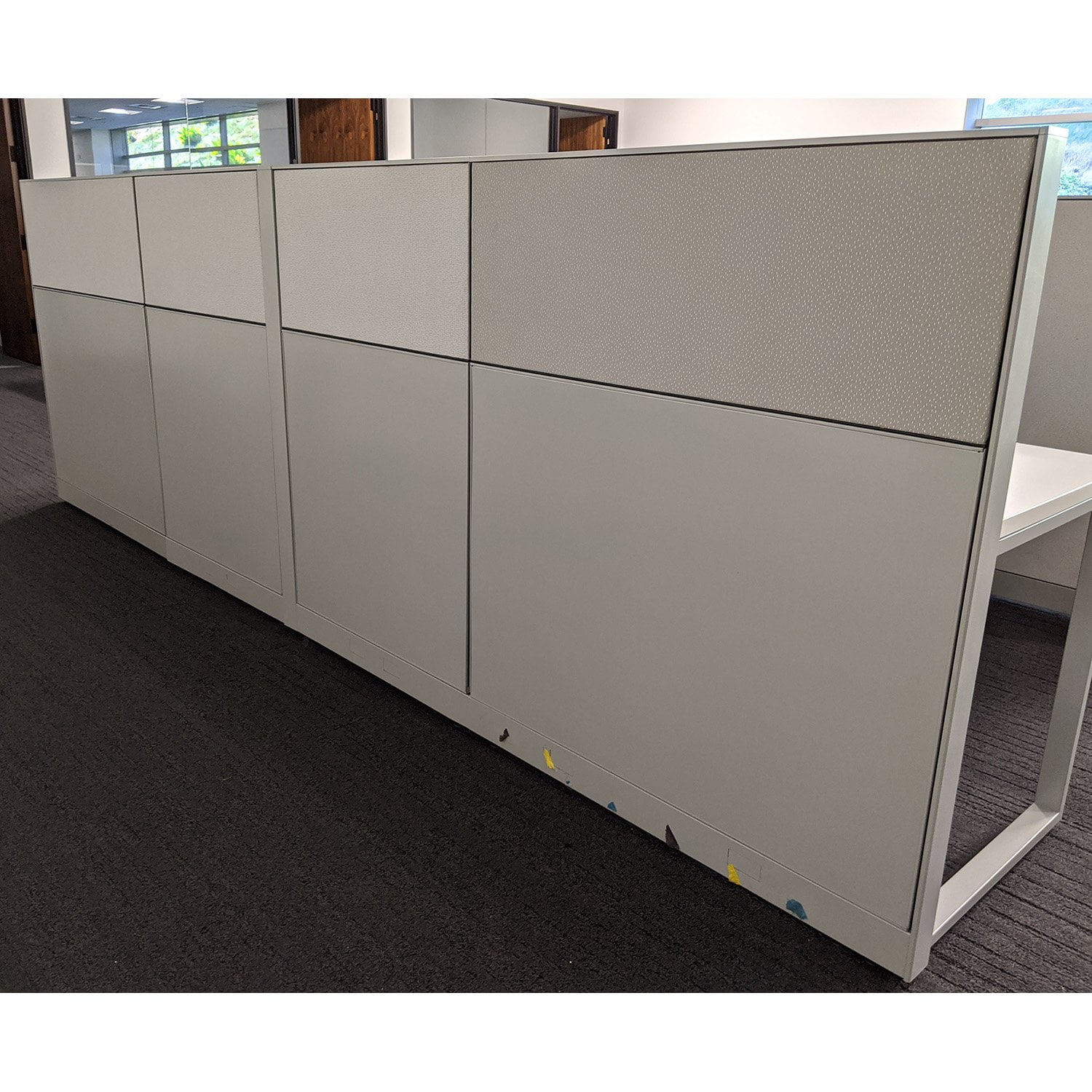 6x6 Premise Used Work Stations By Haworth, Sold in Pods