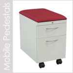 Mobile Storage Pedestals