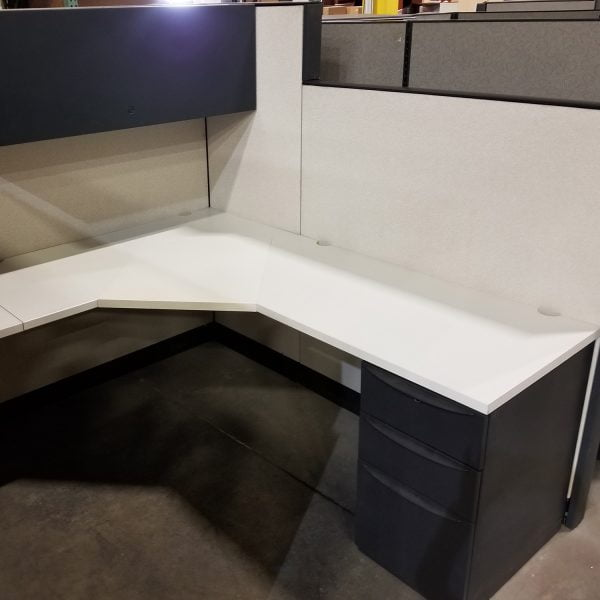 6x8 Premise Used Cubicles By Haworth - Sold in Pods