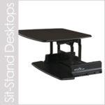 sit-stand desktops