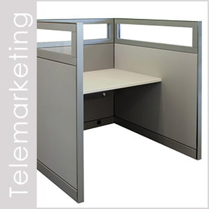 Telemarketing Cubicles and Workstations
