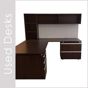 Used Desks and Casegoods