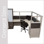 Various Cubicle Sizes
