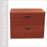 Wood and Laminate File Cabinets