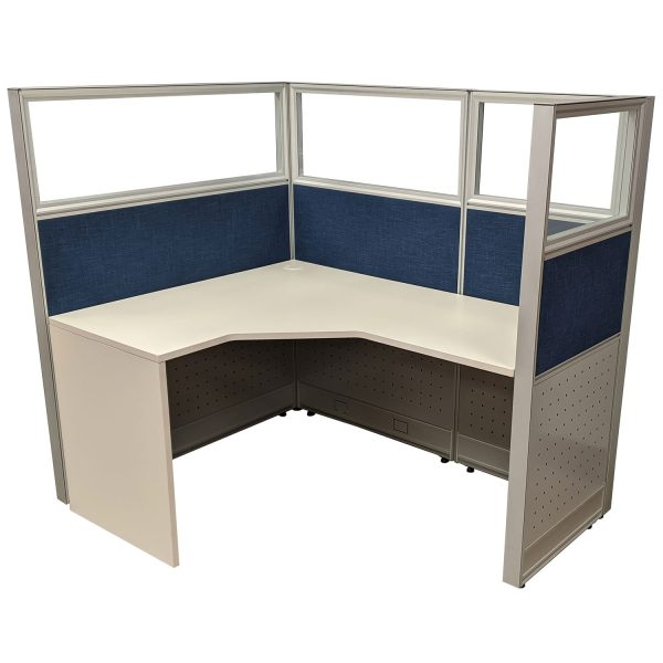 goSIT 5x4 new cubicle station from goSIT with glass