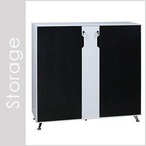 Morgan Black & White Storage