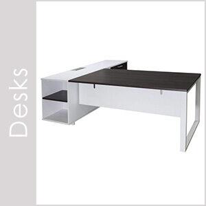 Morgan Gray Desks