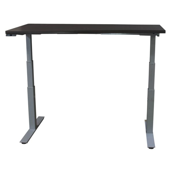 Herman Miller Used 23x60 Electric Sit Stand Table, Neutral Twill Gray