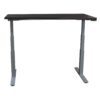 Herman Miller Used 23x60 Electric Sit Stand Table Right, Neutral Twill Gray