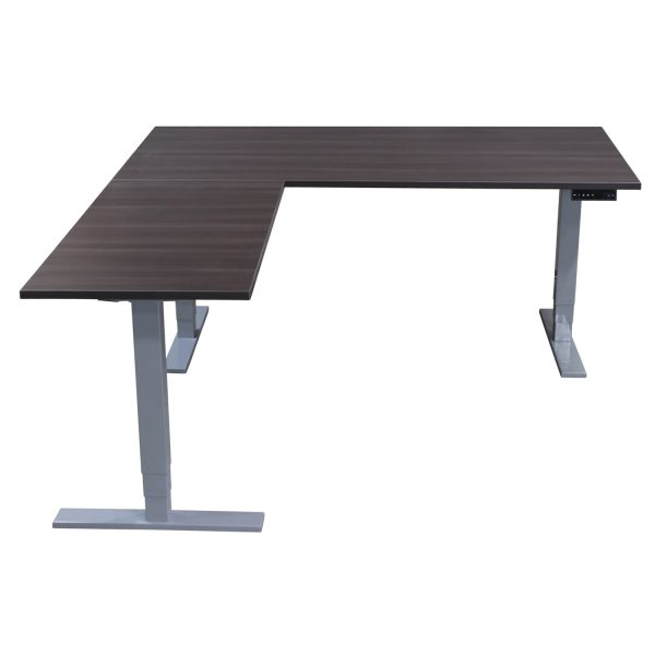 goSIT New Electric 36x72 24x48 L-Shaped Lifting Table w Gray Frame