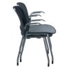 Herman Miller Caper Used Stack Chair, Gray