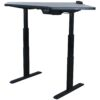 Haworth and Monoprice Used Electric Lifting Corner Table, Light Gray